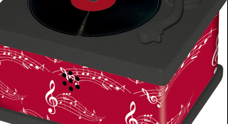 Geschenke F303274r Frauen Zu Weihnachten.Mini Plattenspieler Mit 10 Platten Hochzeitsmusik