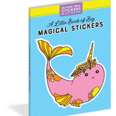 "Stickerbuch ""A Little Book of Big Magical Stickers"". 20 grosse Chläber und 150 Mini Chläberli!"