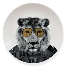 "Wild Dining grosser Teller ""Larry Lion"""