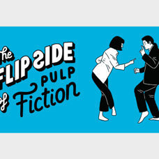 Daumenkino The Flip Side of Pulp Fiction. Die Kultszene aus Pulp Fiction als Daumenkino.