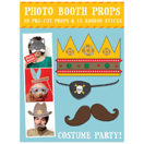 Costume Party Photo Booth Requisiten